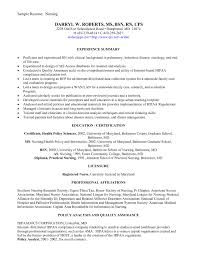 New Graduate Nursing Resume Examples Brilliant Ideas Of Marvellous