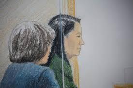 كندا - المديرة المالية لهواوى تمثل مجددا أمام المحكمة