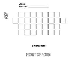 Elementary Seating Chart By Marni King Teachers Pay Teachers