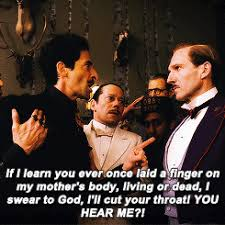 Grand Budapest Hotel Quotes Gorgeous My Favorite QuotesConversations From The Grand Budapest Hotel To