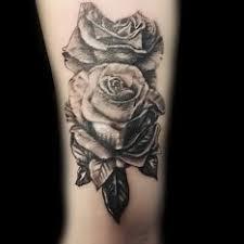 Tetování Květiny Ruka černobílá Tetování Tattoo