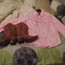 Cavenders Boots And Shirt