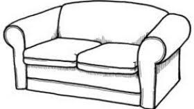 couch clipart black and white. Exellent Couch Sofa Clipart Black And White All About In Couch L