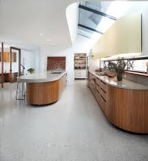 Polished Concrete Floor Kitchen Polished Concrete Floor In Dover Heights Honestone Concrete