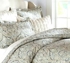 paisley duvet cover king paisley duvet cover sham blue pottery barn greenland home 3 piece vintage