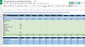 How To Make A Monthly Budget On Excel A Simple Spreadsheet For Tracking Shared Expenses