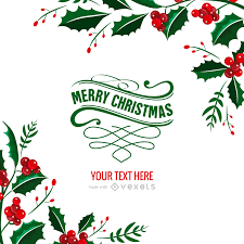 christmas postcard maker mistletoe christmas card maker editable design