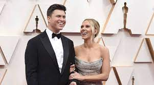 Scarlett Johansson, husband Colin Jost ...