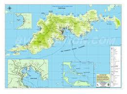 tortola map  map of tortola