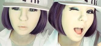 minzy 민지 2ne1 make up transformation by anastasiya shpagina you