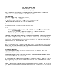 1 Page Essay Format Help To Write A Documented Research Essay Format For A