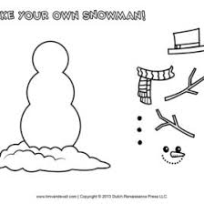 Small Picture Snowman Face Coloring Page Kids Drawing And Coloring Pages