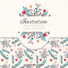 save the date template free download elegant save the date invitation vector free download