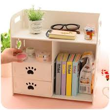 diy office desk. 2018 Wholesale Diy Office Desk Sets Cabinet Organizer White Wooden Storage Box Book Magazine Racks For From Unclouded01, $51.64 | Dhgate.Com