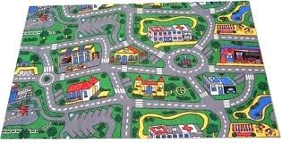play road rug rugs city is a great design which soft and comfortable childrens mat map
