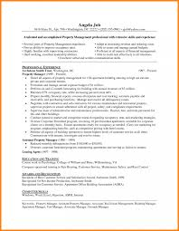 Property Manager Resume Sample Leasing Job Description Assistant