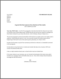 Business Press Release Template How To Write A Press Release For A Book The Happy Self