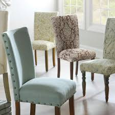 Patterned Dining Chairs Extraordinary Dining Chair Fabric Ideas Classroom Tables And Chairs