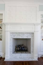 carrara marble fireplace hearths