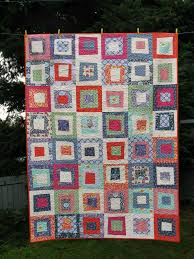 303 best WONKY QUILTS & BLOCKS images on Pinterest | Color off ... & Stack & Whack Wonky Block Quilt (with moderate wonkyness) (with link to  tutorial Adamdwight.com