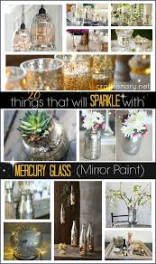 mercury glass mirror paint