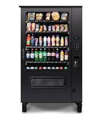 Cold Food Vending Machines Classy AB48 Single Temperature Outdoor Combo Drink Food Vending