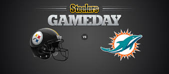 Pittsburgh Steelers Vs Miami Dolphins Heinz Field In