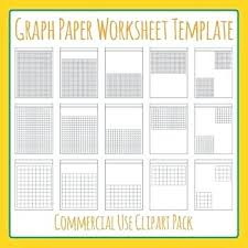 Kidz Zone Graph Math Graph Paper Worksheet Templates Layouts Clip
