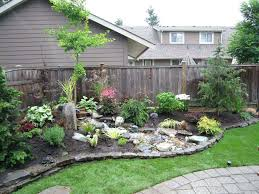 simple landscaping ideas. Great Landscaping Ideas For The Backyard Desert Simple Landscape Back Yard Diy . Image Of O