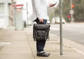 luxury leather backpack