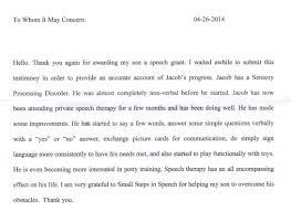 Small Steps In Speech Testimonials