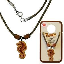 necklace seahorse pendant