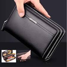 Fashion Business Men's PU Leather Wallets Handbag ... - Vova