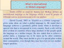 english as a global language 3