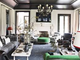 create a masculine urban chic look using black ceiling tiles