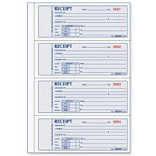 rediform l rediform rent receipt book redl red l rediform 3 pt carbonless rent receipt book red8l809
