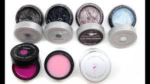 Light Elegance Diamond Glitter Light Elegance Hard Gel Haul Swatch Comparisons