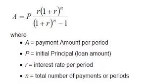 Principal Payment Calculation How To Calculate The Monthly Amount Of Both Principal And