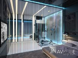 home gym lighting. fiber optic room dividers tanya minina more gym interiorfuturistic interiorinterior lightinginterior home lighting i