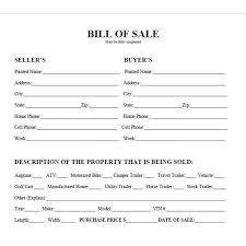 Sample Bill Of Sale For Car Pdf Printable Car Bill Of Sale Pdf Bill Of Sale West Texas Atv
