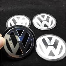 4x Car Wheel Center Hub Caps Cover FOR VOLKSWAGEN VW Passat b5 b7 ...
