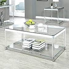 chrome coffee table round glass and chrome coffee table amazing modern glass chrome cross leg coffee chrome coffee table