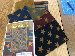 Gazing Flannel Quilt Kit by Jo Morton & Star Gazing Flannel Quilt Kit by Jo Morton Adamdwight.com