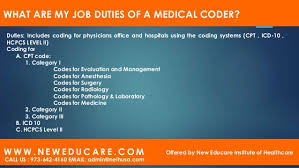 duties of medical billing and coding - pacq.co