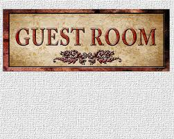 Guest Room Sign Decor Special Fine Art Guest Room sign Decor For Your Home 600 by 60 2