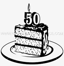 50th Birthday Cake Png 50th Birthday Cake Clipart Transparent Png
