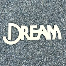 dream wood sign dream wood sign laser cut wall art cut wood cheers script word sign wooden words sign art rustic word room decoration in figurines
