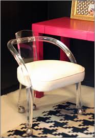 lucite office chair. acrylic lucite desk chair office h