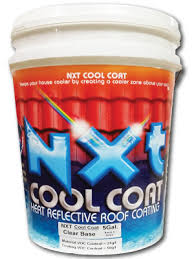 concrete roof tile restoration with nxt cool coat