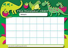 Dinosaur Reward Chart And Stickers Sticker Solutions A4 Dinosaur Reward Chart With 25 Stickers